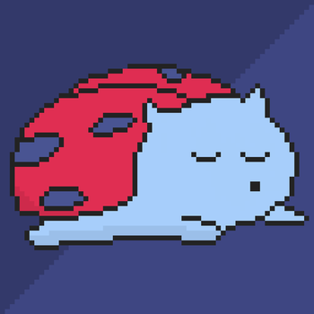 Sleeping Catbug by Sebooster
