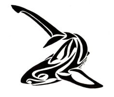 Thresher Shark Tribal by SabarielLocien