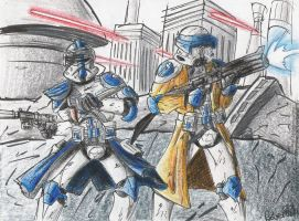 Holding  the line by GraphiteFalcon