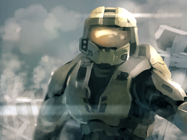 Master Chief by FrostmanSnowman