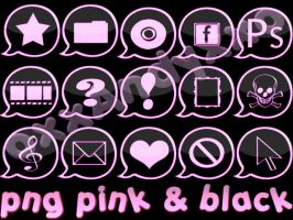 png pink black by oxxAndyxxo