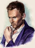Thoughtful Tom by KseniaParetsky