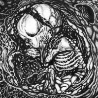 Putrefaction of mucous fetus by art-of-gore
