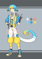 XXII Electric Racer {Auction} CLOSED by Koru-Adopts