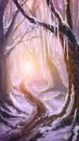 #3: Icicle/Snow Forest by ZLynn