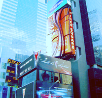 Time Square edited by Nicolemxx