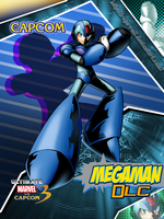 Megaman UMvC3 by ruga-rell