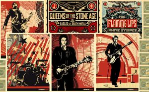 obey rock poster's by armin09
