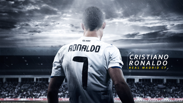Cristiano Ronaldo Wallpaper by Mackalbrook