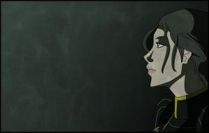 Wallpaper Lin Beifong by Chouly-only