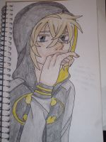 I try to draw the person that I wish I could be by SaneicThornda