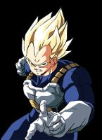 Vegeta Super Sayan by Shagohod88
