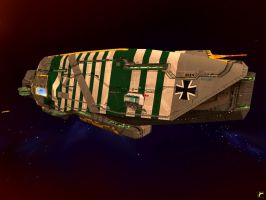Luftwaffe Vaygr Flagship by Roflbot