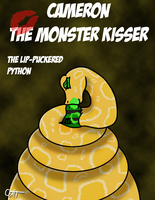 The Lip-Puckered Python by microdude87