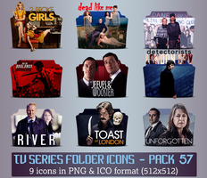 TV Series - Icon Pack 57 by apollojr