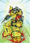 Sunstreaker - colour by JoeTeanby