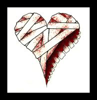 Bandaged Molar Heart by Alternate-Deviant