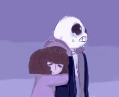 I think you're pretty great, Sans. by blindeyeflye