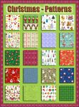 Christmas   Patterns 4   Pat by Tetelle-passion