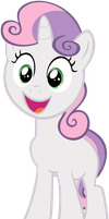 Sweetie Belle Yay! by flutterguy317