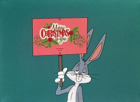 Bugs Bunny Wishes You a Mery Christmas! by Uranimated18