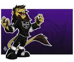 LA Kings: Bailey by jmh3k