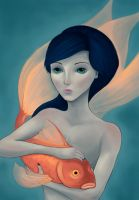 Golden Fish by Fidelicant