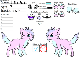 Lilly pad`s ref 2012 by Kat-teh-Artist
