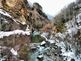 Snowed River by Evicas