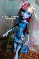 Monster High: Crystal Diva Abby by Azyntil