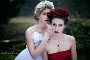 rose-sisters by CarolineZenker