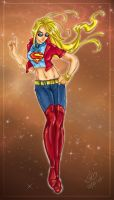 Supergirl design_round1 by Terrible-Doll