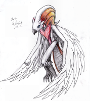 Art Trade: Valkyriss of White by DeadlyObsession