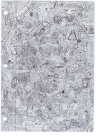 Spiderweb- a chaos drawing by CrypticLyrics