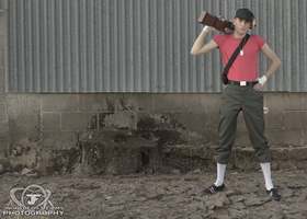 Scout Cosplay Cover Art by ElvisDitto