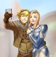 Selfie by iBlue-Potato