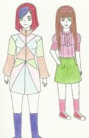 Crazy Color  Sisters by NeitoRibasGirl