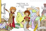 Pocket Alexander and the Sticky Labels by BeckyBumble