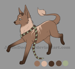 Brown And Green Adopt(closed) by JessaDooAdopts