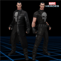 Marvel Heroes - The Punisher [Modern - Trenchcoat] by CaxUchiha