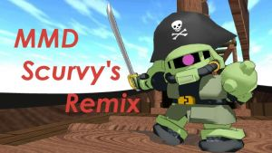MMD Scurvy's Remix by blazeraptor