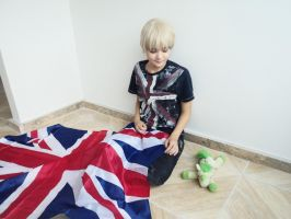 England - Casual cosplay APH by BadScone
