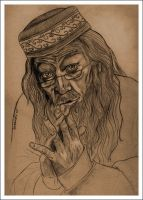 Albus Dumbledore by slytherinfiend