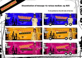 Wear You Culture - Bus Advert by sarthahirah