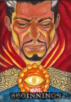 DOCTOR STRANGE Marvel Beginnings3 Sketchcard by JASONS21