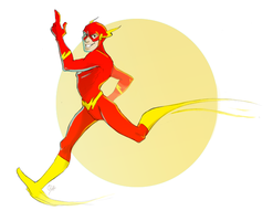 The Flash by rollingrabbit