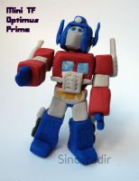 Mini TF Optimus by Sinceredir