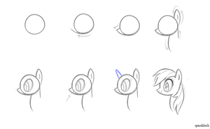 show-style profile tutorial by spacekitsch