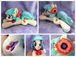 Coco Pommel Beanie by equinepalette