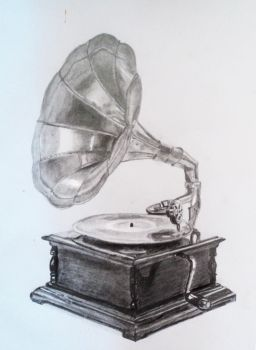 Phonograph / Tocadiscos by patyfer